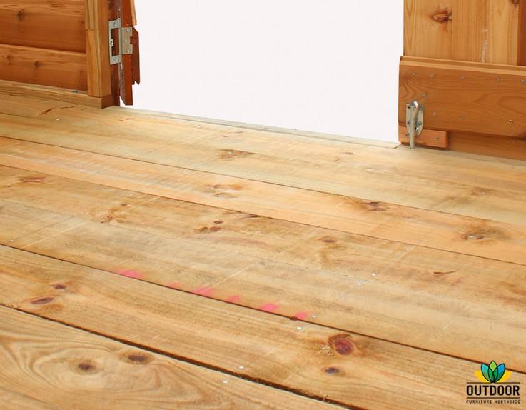 Rebated Floor