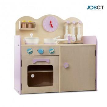 Keezi Kids Wooden Kitchen Play Set