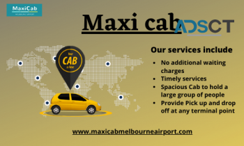 Maxi cab taxi service Melbourne