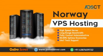 Grab Norway VPS Hosting with High Protection by Onlive Server