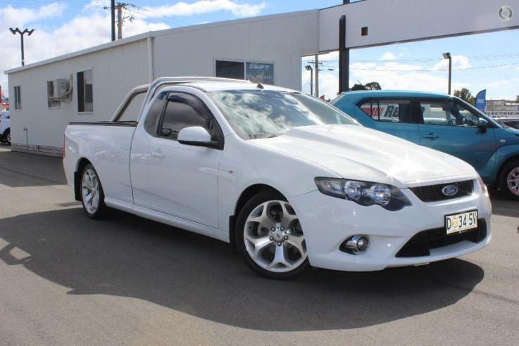 2010 Ford Falcon Ute XR8