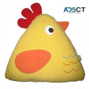 Chick Cuddling Cushion