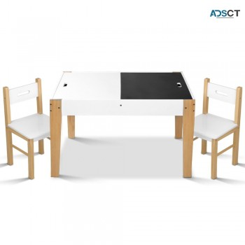 Keezi Kids Table And Chair Set