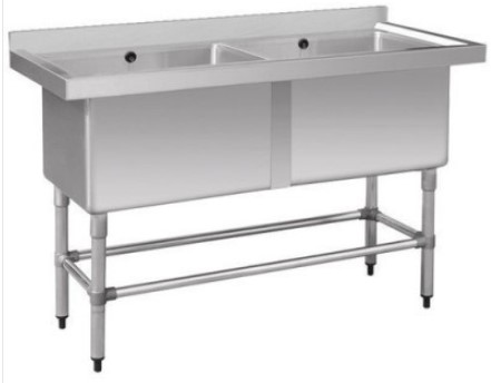 F.E.D. 1410-6-DSB Stainless Steel Double