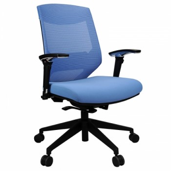 Buy Prima Pro High Back Chair-Blue