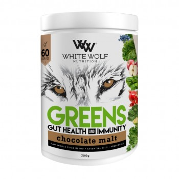 WHITE WOLF NUTRITION — GREENS 60 SERVING