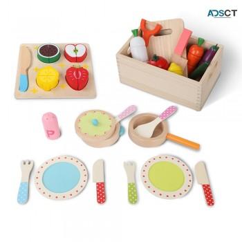 Keezi 29 Piece Kids Food Play Set