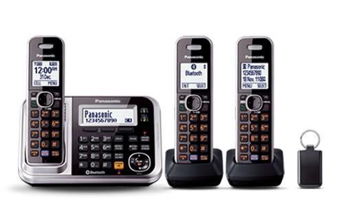DECT Digital Cordless Phone - Triple Pac