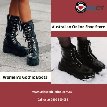 Buy Women's Gothic Boots At An Australia
