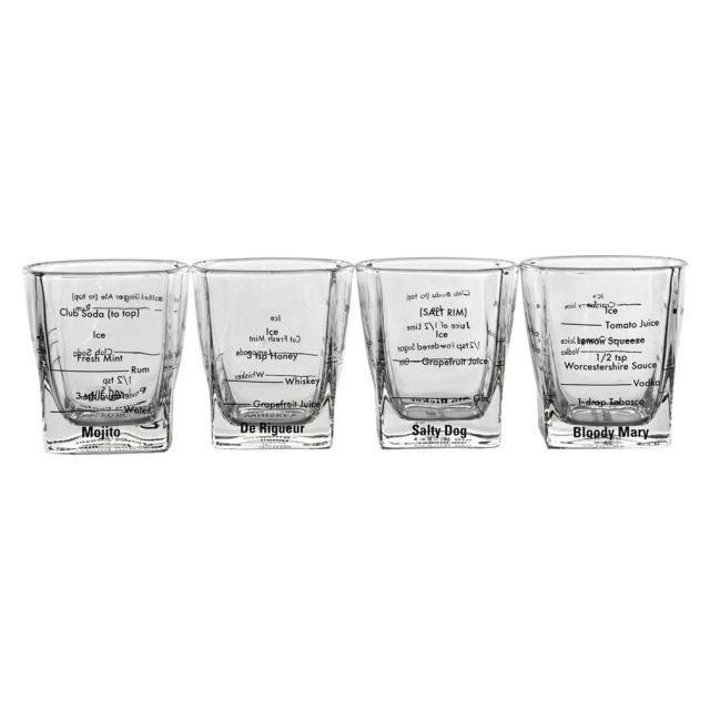 Bartender Glasses Set of 4
