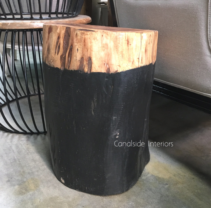 Organic Log Trunk Stools / Side Tables -