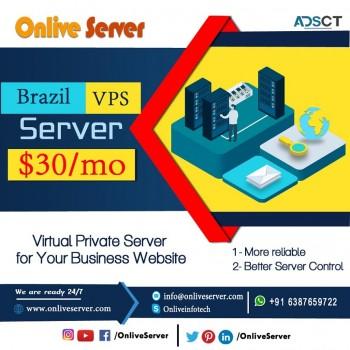 Buy Most Popular Brazil VPS Server by On