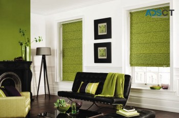 End of winter sale roman blinds