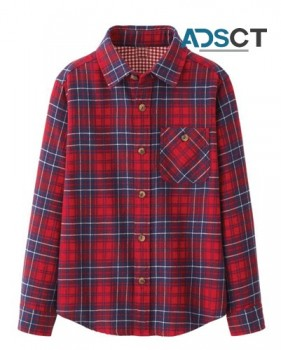 Collections of Kids' Flannel Dresses