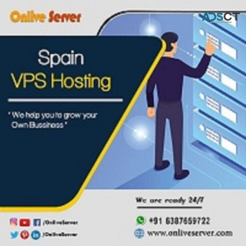 Get Managed Spain VPS Hosting Plan by On