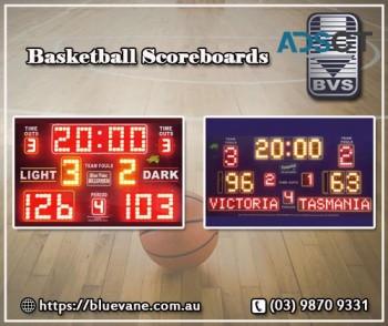 Indoor and Outdoor Basketball Scoreboard