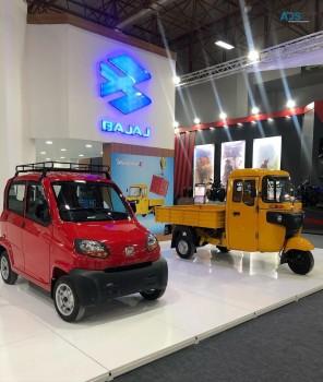 Bajaj Qute Car & Bajaj RE 4S Tricycles.