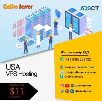 Choose Trustworthy & Effective USA VPS Hosting Plans by Onlive Server