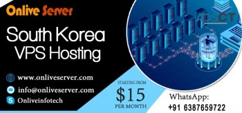 Powerful Network Service South Korea VPS Hosting By Onlive Server