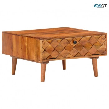 Coffee Table 80x50x40 cm Reclaimed Teak