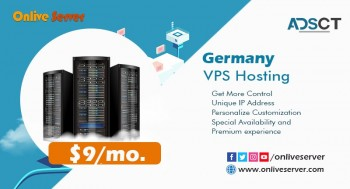 Buy Germany VPS Hosting With Affordable