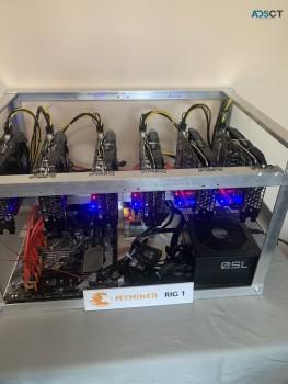 High Capacity Bitcoin mining machine