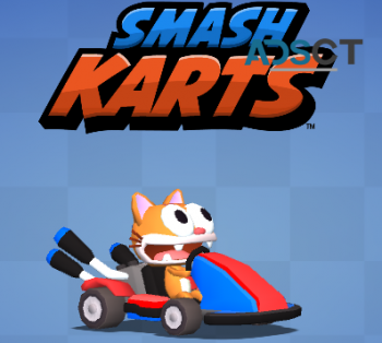 Smash Karts - challenging game