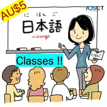 $5 Japanese Language Classes!!!