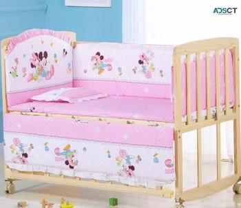 5Pcs/Set Baby Crib Bed Bumper