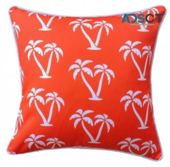 Orange Palmapple Outdoor Cushion Cover