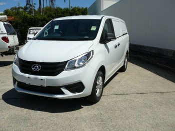 2017 LDV G10 SV7C White 5 Speed Manual V