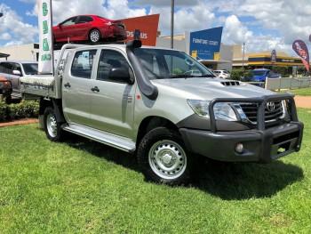 2014 Toyota Hilux SR Double CAB KUN26R M