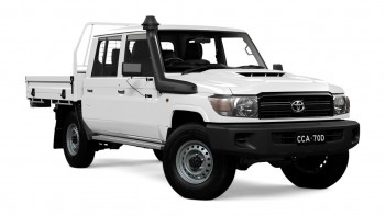 2017 Toyota LandCruiser 70 Workmate Doub