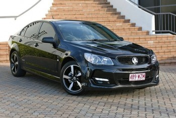 2016 Holden Commodore SV6 Black Sedan