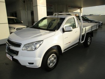 2012 Holden Colorado DX (4x4) Cab Chassi