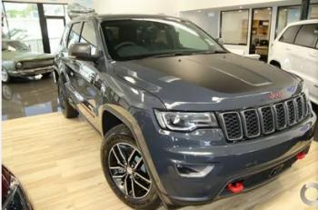 2017 Jeep Grand Cherokee Trailhawk Auto