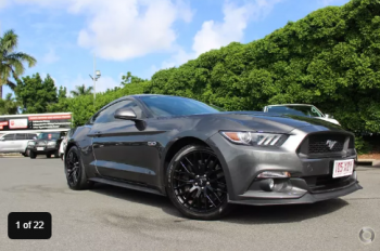 2017 Ford Mustang GT FM Manual