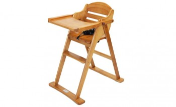 Timber Folding High Chair V2
