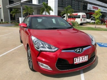 2015 Hyundai Veloster Coupe D-CT Hatchba