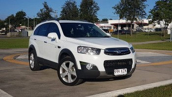 2011 Holden Captiva 7 LX (4X4) CG Series