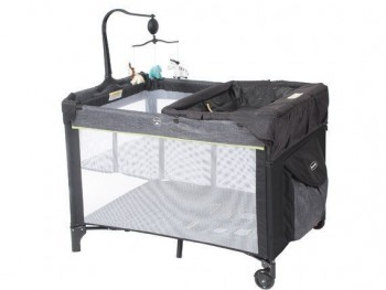 Steelcraft 4 In 1 Denim Portable Cot