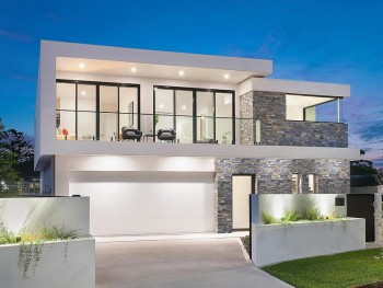 New architecturally designed home in She