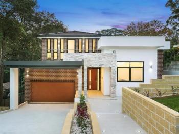 New contemporary home in ultra-convenien