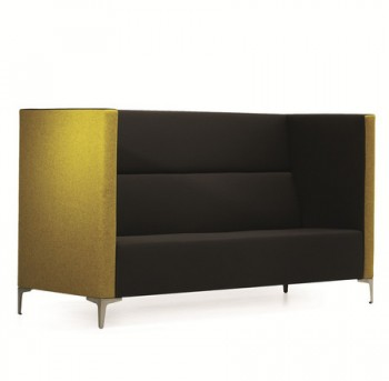 The Buxton sofa has a clean design and o