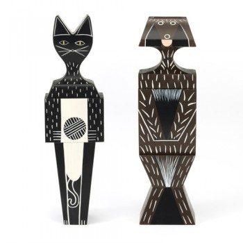 XL WOODEN CAT & DOG