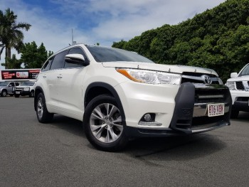 2014 Toyota Kluger Gxl Wagon (White)