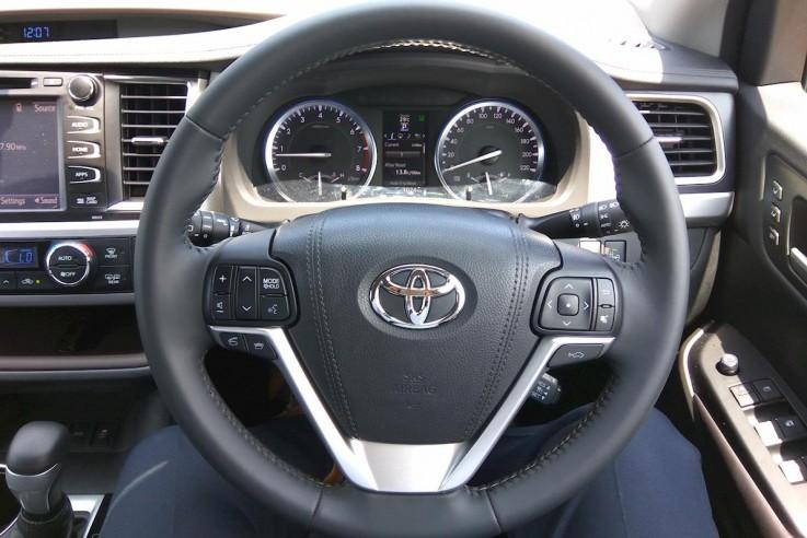 2016 Toyota Kluger Grande 2WD