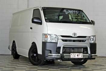 2015 Toyota Hiace KDH201R MY15 LWB White