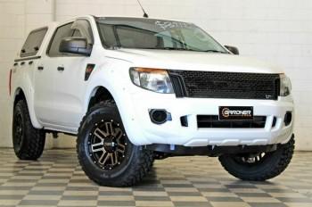 2014 Ford Ranger PX XL 3.2 (4x4) White 6