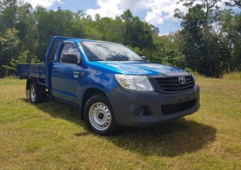 2014 TOYOTA HILUX TGN16R WORKMATE CAB CH